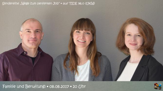 """Radiosendung """"Familie und Beruf(ung)"""" auf TIDE 96.0 zum Nachhören"""