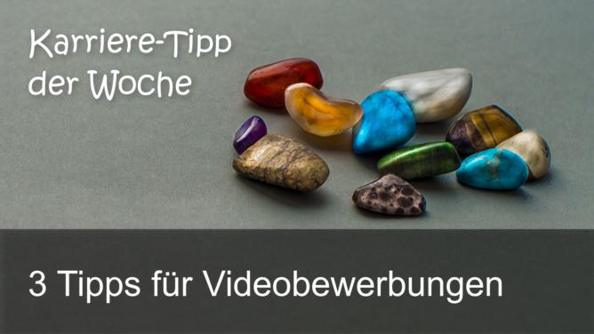 3 Tipps für Videobewerbungen – KTdW Nr. 11 auf TIDE.radio