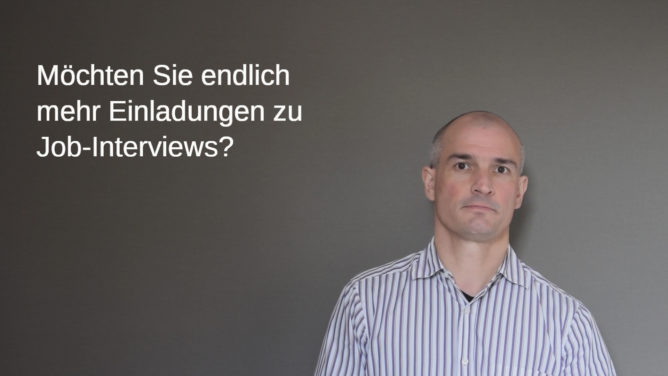 "Neues Video: ""Endlich mehr Job-Interviews"""